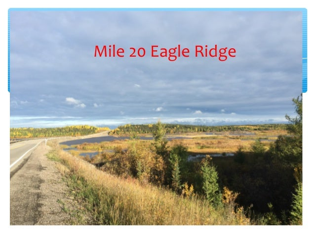 Mile 20 Eagle Ridge