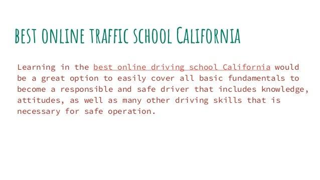 best ca drivers ed online