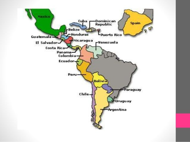 Learning the hispanic countries