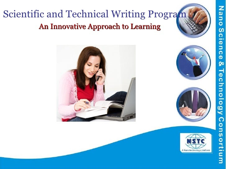 Scientific and Technical Writing Program    An Innovative Approach to Learning