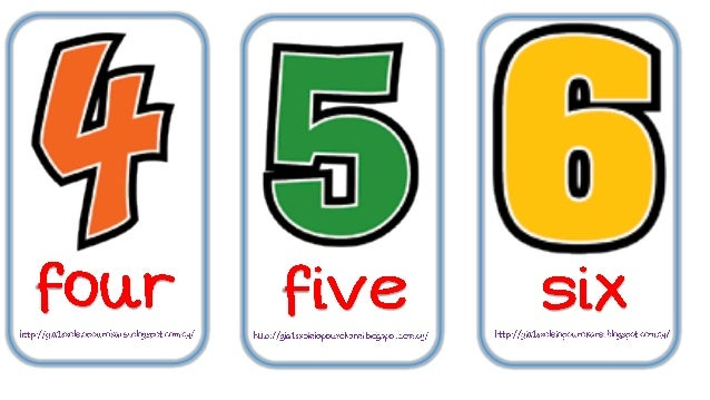 Learning the numbers with casper! Slide 3