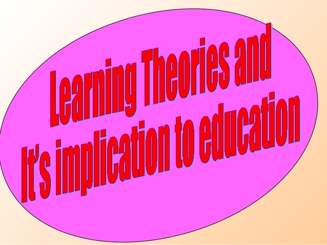 • People learns in different ways, teacher  needs to use diff. strategies of teaching.• Parent and teachers should help ch...