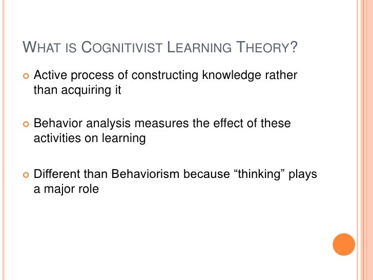 cognitivist approaches O lson and l and a cognitive strategies approach to reading and writing 271 s uzanne: he might have saved it to remind him of his old lifestyle when he was.