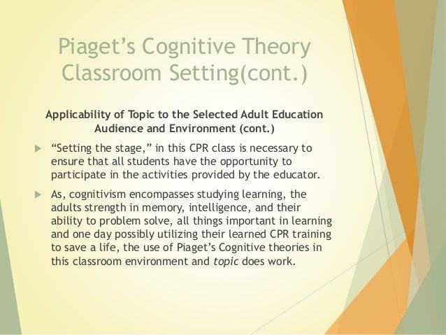 piaget classroom environment