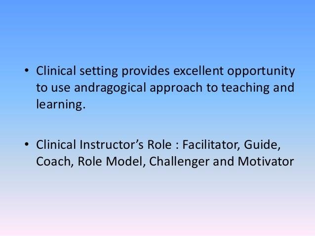 Andragogy and pedagogy in nursing