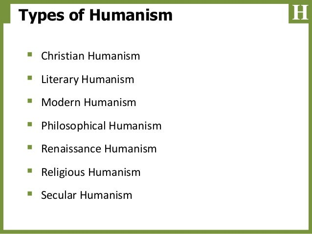 An analysis of humanism during the renaissance