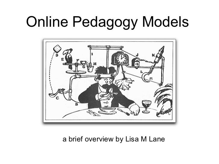 Online Pedagogy Models a brief overview by Lisa M Lane