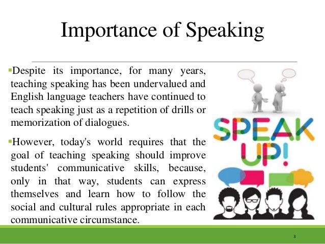 importance of spoken english paragraph