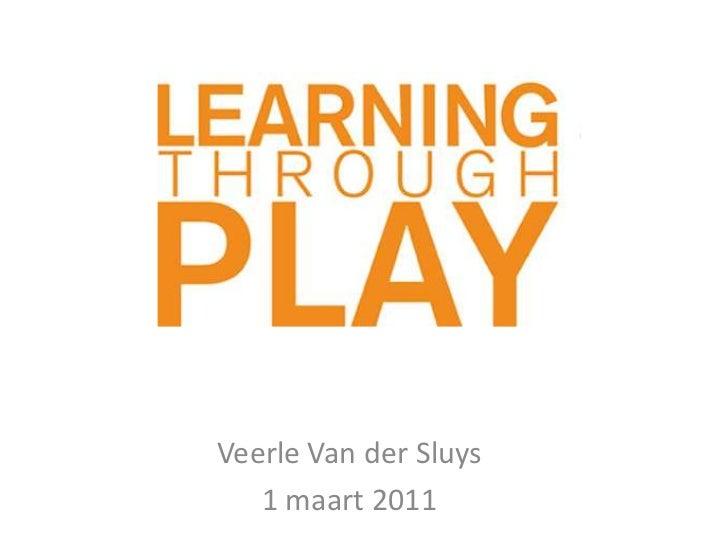 Veerle Van der Sluys<br />1 maart 2011<br />