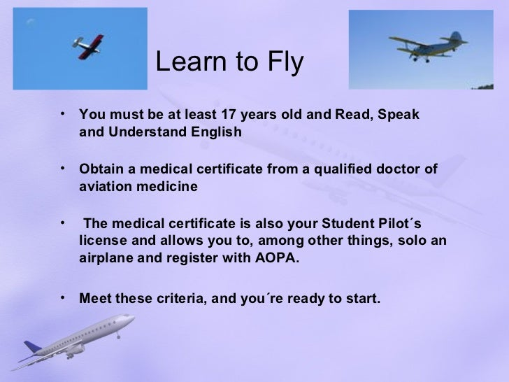 how to get your flying license