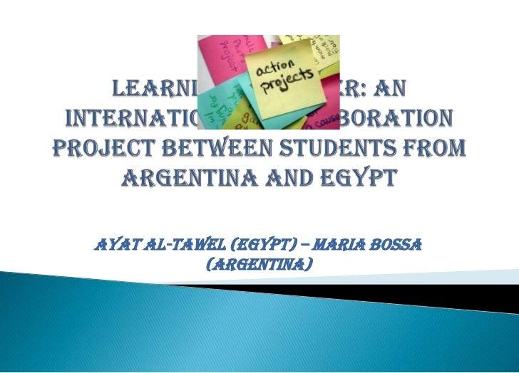 Ayat Al-Tawel (Egypt) – Maria Bossa           (Argentina)