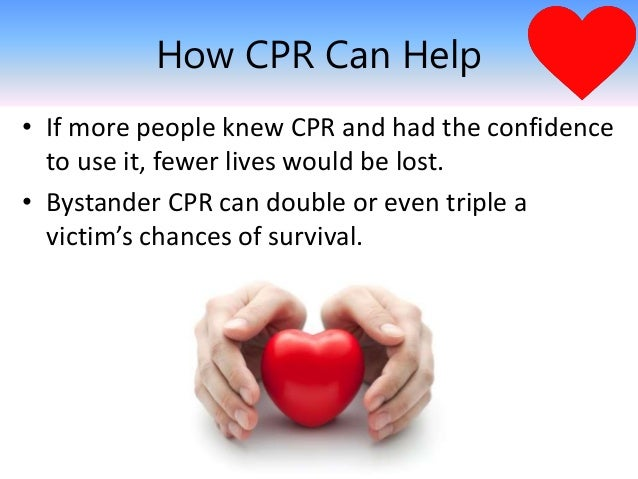 10 Reasons to Learn CPR - New Holland Ambulance Association