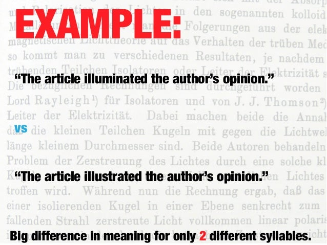 articles within your sentence
