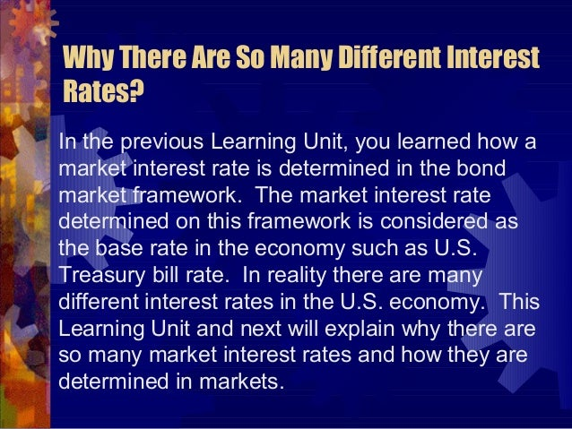 Econ315 Money and Banking: Learning Unit #12: Risk Structure of Interest Rates Slide 2