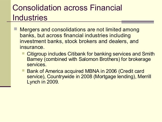 Learning Unit 19 Banking Industry And Regulation