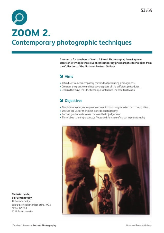 history of portrait photography History of photography - perfecting the medium, c 1900–c 1945: at the turn of the 20th century, one of the most influential pictorialist groups was the photo-secession, founded in new york city in 1902 by photographer alfred stieglitz.