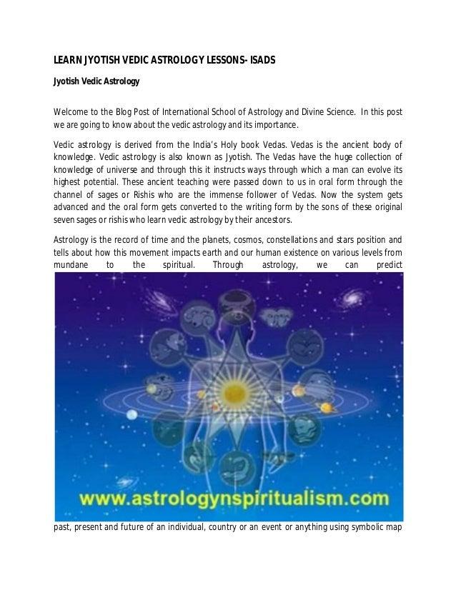 learn vedic astrology tutorial