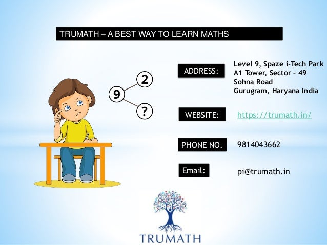 Tru Online Courses >> Learn Math In A Fun Way Through Online Courses Trumath