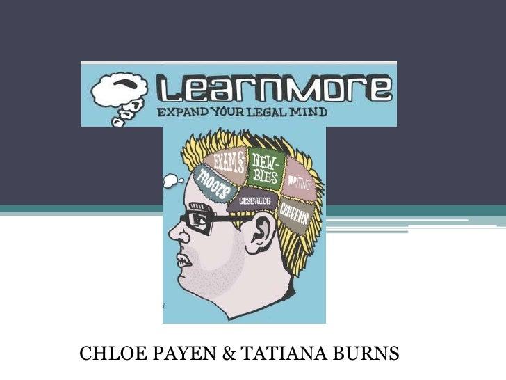 CHLOE PAYEN & TATIANA BURNS