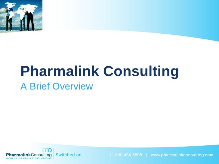 Pharmalink Consulting A Brief Overview