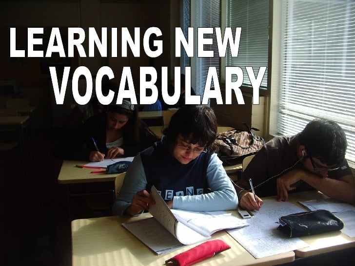 LEARNING NEW VOCABULARY