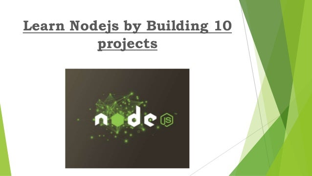 how to learn node js properly
