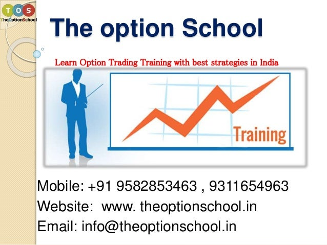 How are options traded in india