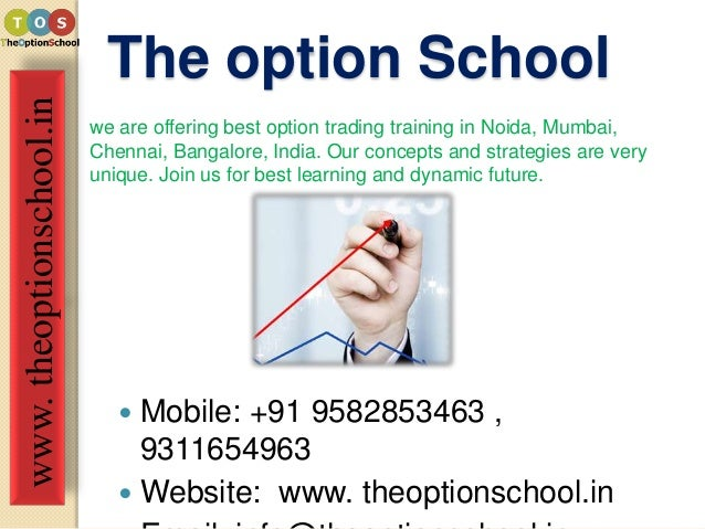 Options trading training in chennai