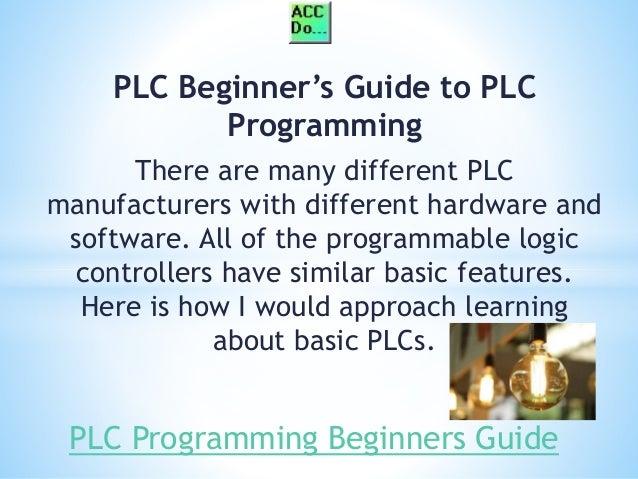 PLC Basics - The Definitive Guide for Logic Control ...