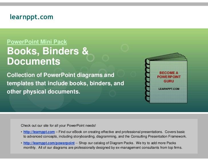 Books, Binders, & Documents