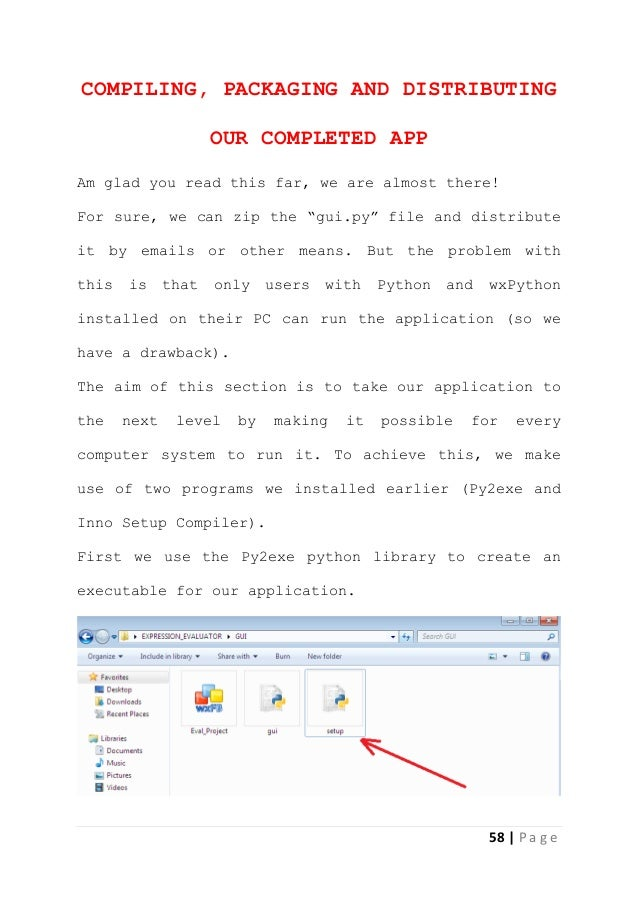windows application development using python
