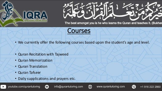 Learn to Read Quran Online