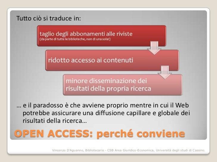 Tutto ciò si traduce in:… e il paradosso è che avviene proprio mentre in cui il Web  potrebbe assicurare una diffusione ca...