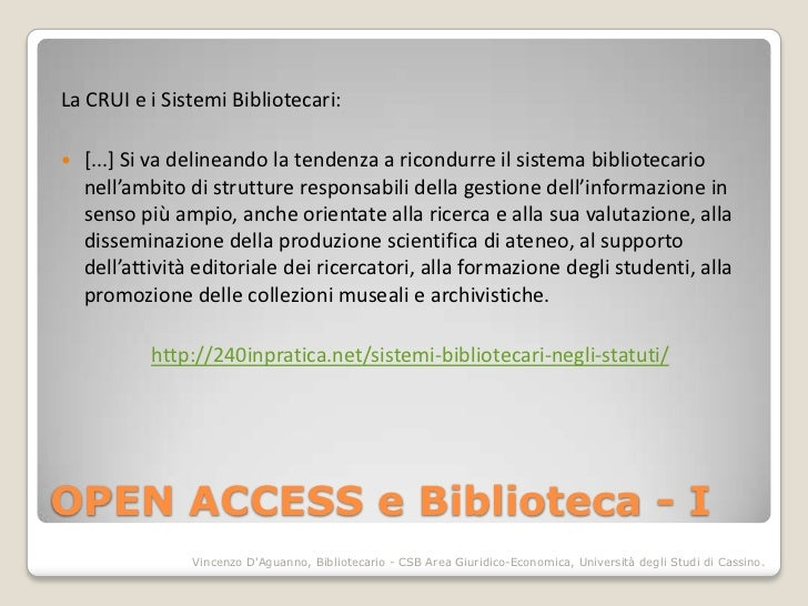 Learn share advance. La Biblioteca e i nuovi modelli della comunicazione scientifica Slide 2