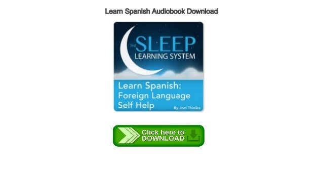 learning spanish audio books free download