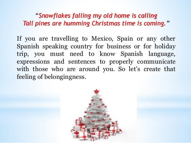 Learn spanish christmas greetings and words m4hsunfo