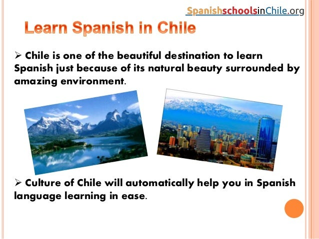 Learn Spanish in Chile - StudySpanish.com