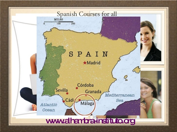 Spanish Courses for all www.alhambra-instituto.org