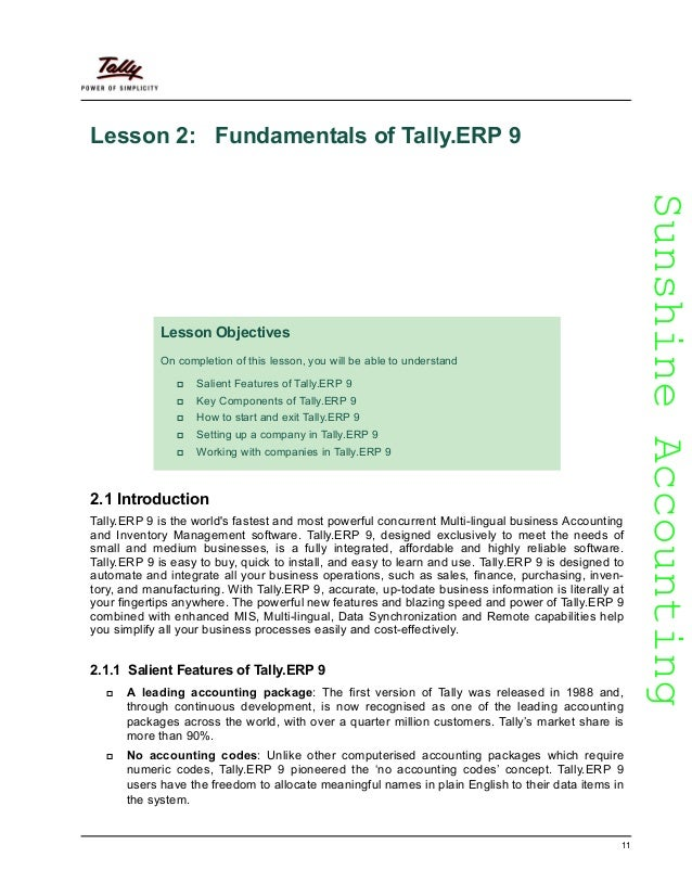 Learn tallyp9 12 sunshineaccountingsunshineaccounting fandeluxe Image collections