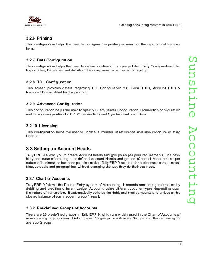 Learn tallyp9 42 sunshineaccountingsunshineaccounting fandeluxe Image collections