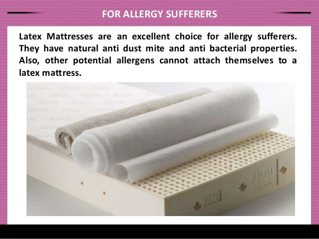 Learn the Health Benefits of Latex Mattresses