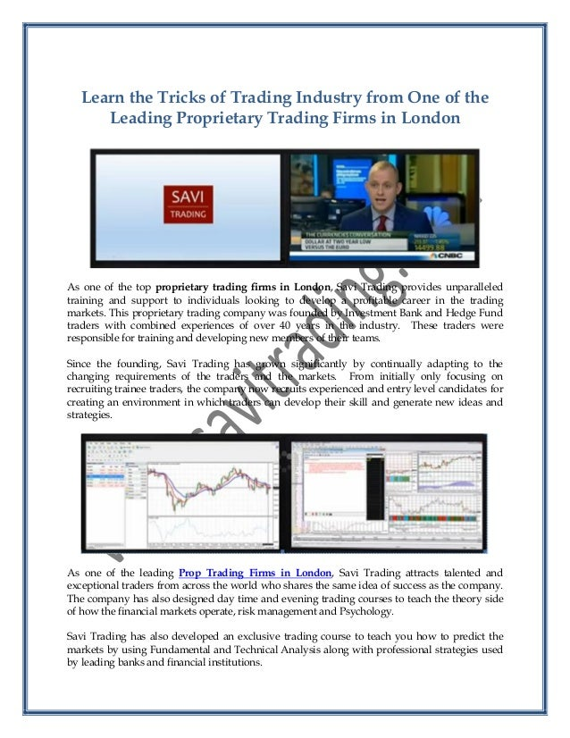 Options trading firms london