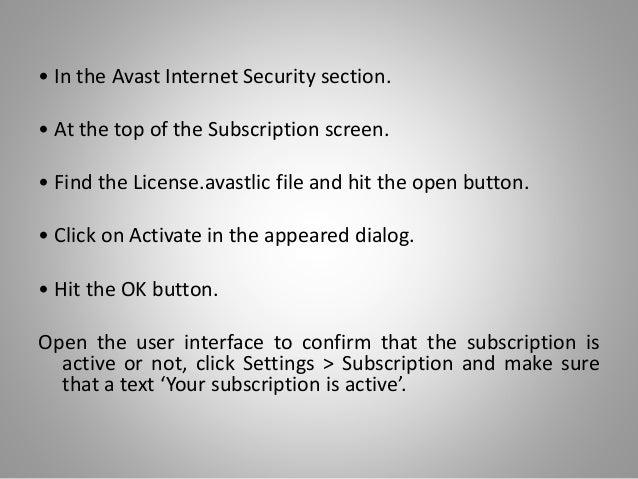 avastlic file download