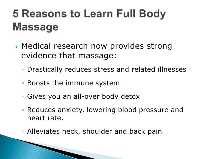 Learn Massage to Fight Back, Neck and Shoulder Pain