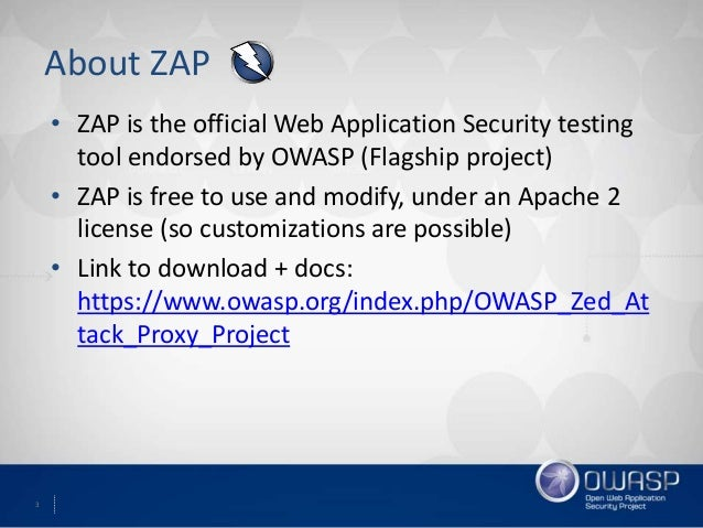 Learn to pen-test with OWASP ZAP