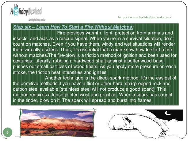 # Best Survival Skills To Learn - (Step By Step) - Best ...