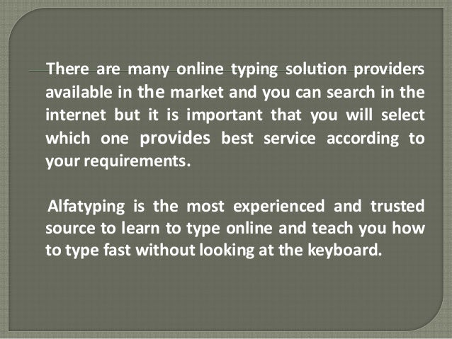 Play Free Typing Games Online | Type Faster!