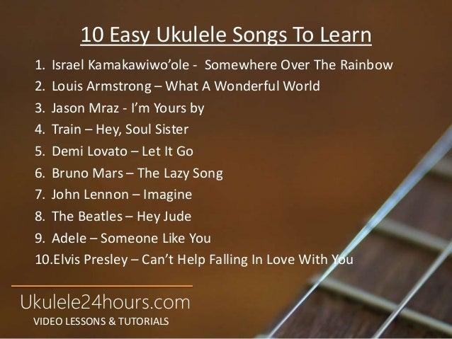 Learn To Play Ukulele In 24 Hours