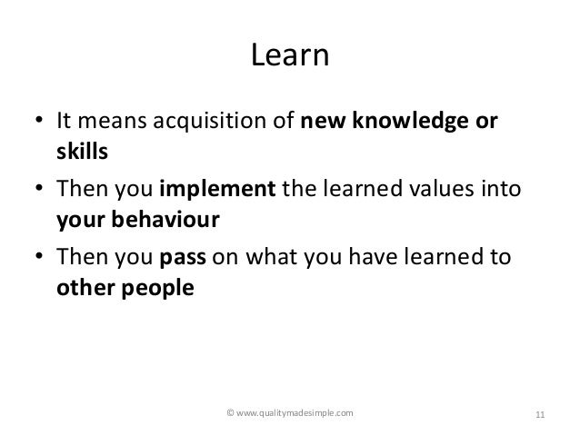 Learn, Unlearn and Relearn – Reading By Example