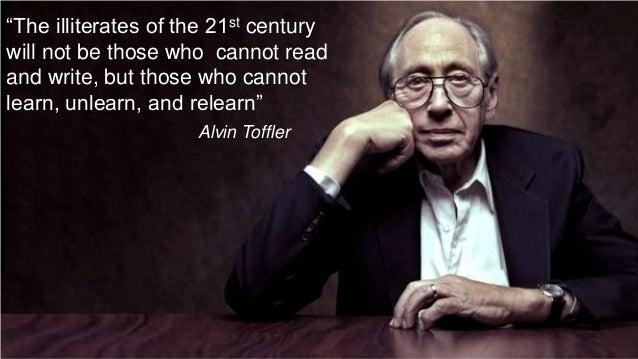 That Alvin Toffler quotation » flexnib